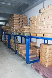 米・小麦粉の倉庫